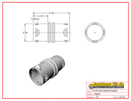 "3"" (75 mm) Internal Coupler"