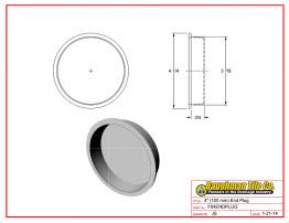 """4"""" (100 mm) End Plug"""