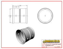 """4"""" (100 mm) F477 Double Bell Coupler"""