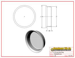 """3"""" (75 mm) End Plug"""