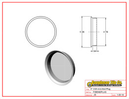 """5"""" (125 mm) End Plug"""