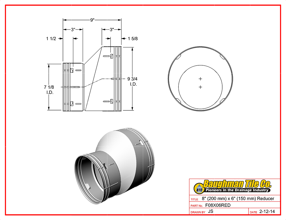 Corrugated Drain Pipe Fittings